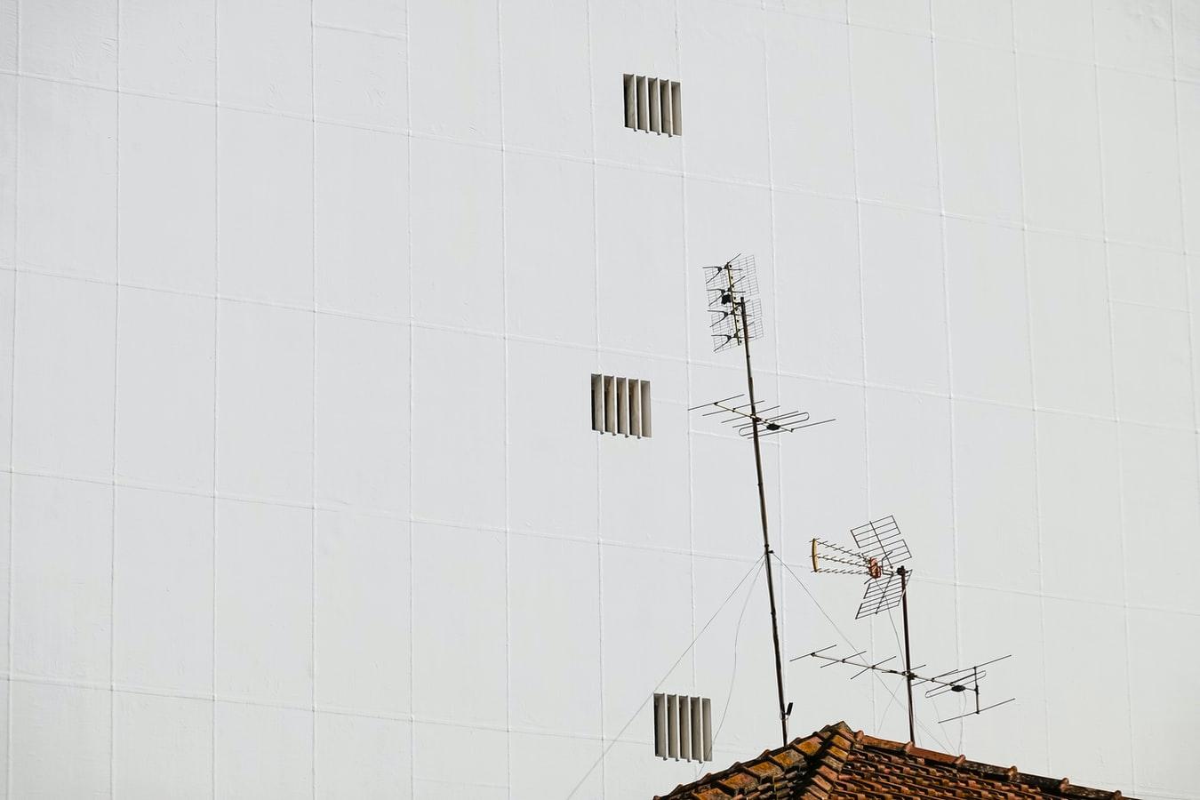 montare antenna tv